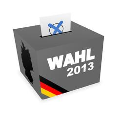 wahlurne v3 wahl 2013 II
