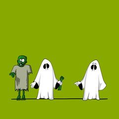 plakat halloween XVI