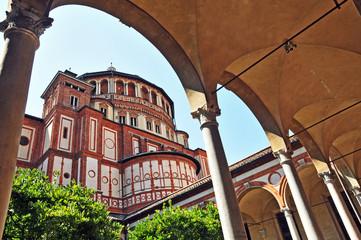 Milano, la Basilica di Santa Marie delle Grazie
