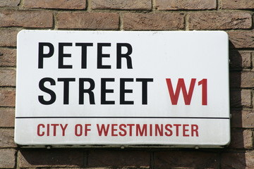 Peter Street a Famous Address in London