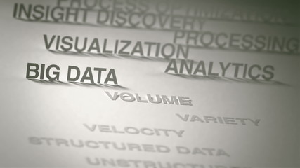 Big Data Concept Animation