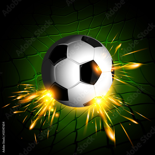 soccer ball lighting