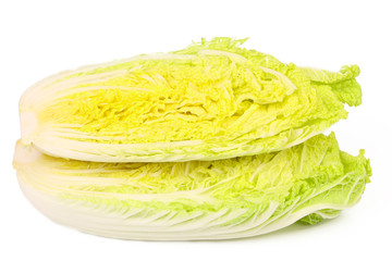 Cross section of chinese cabbage