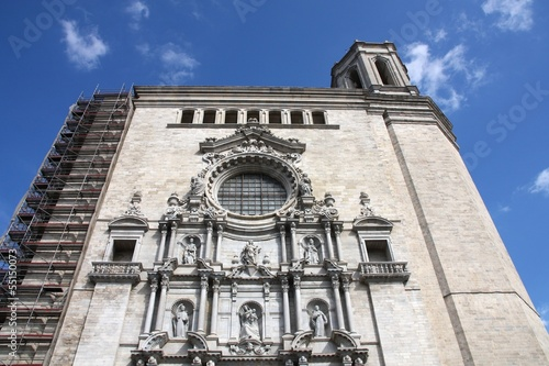 Cathedral in Girona, Spain