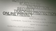 Online Privacy Concept Animation