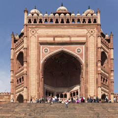 Fatehpur_Buland Darwaza-Gate of Magnificence