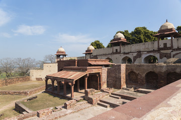 Fatehpur_Entrance to Queen's Palace