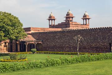 Fatehpur_Hospital and garden
