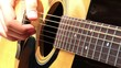 Playing At Acoustic Guitar