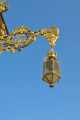 lantern from central square of Nancy, France