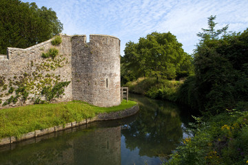 Bishop's Palace Moat in Wells