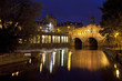 Pulteney Bridge and the River Avon at Night