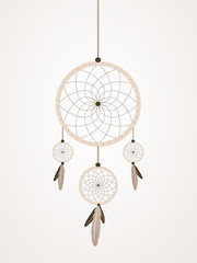 Brown dreamcatcher
