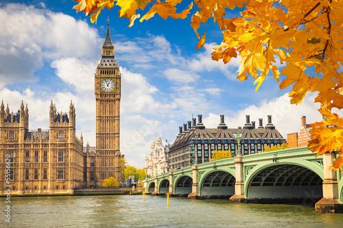 Zdjęcia na płótnie, fototapety na wymiar, obrazy na ścianę : Big Ben, London