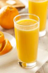 Refreshing Organic Orange Juice