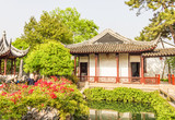 Classical Chinese garden in Shanghai, China
