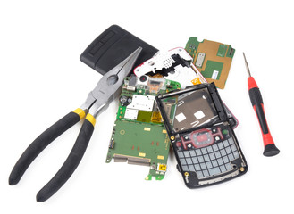 Fixing broken cell phone