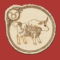 Zodiac sign - Taurus
