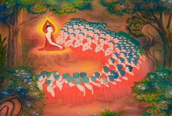 Buddhist monks arise