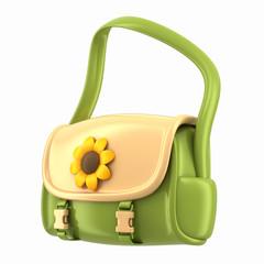 3d render of a sling bag for kids