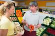 kompetente beratung im supermarkt
