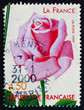 Postage stamp France 1999 La France, Old Rose