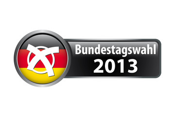 Bundestagswahl 2013 - Button