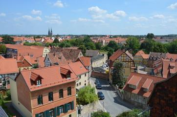 Blick auf Quedlinburg