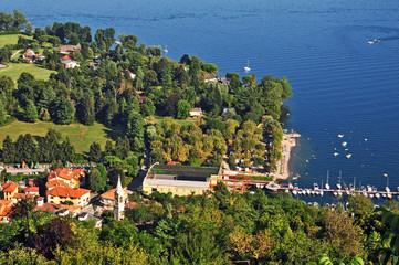 Il Lago Maggiore a Solcio e Lesa
