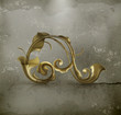 Swirl pattern, old style