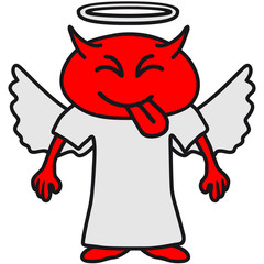 Cheeky Devil Angel