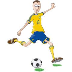 Giocatore Svezia
