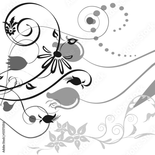 An image of a elegant swirl background. © Rokfeler