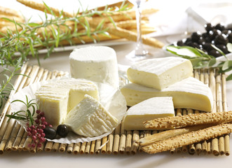 Soft white cheese