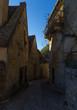 Old alleyway in Beynac village, France