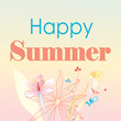 Happy happy summer card