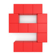 number 9 cubic red