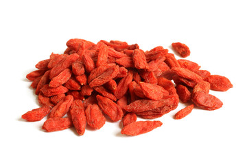 Red dried goji berries (Lycium Barbarum - Wolfberry)