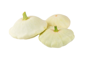 Scalloped custard squash (Cucurbita pepo var. patisson)