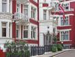 Obrazy na płótnie, fototapety, zdjęcia, fotoobrazy drukowane : London, Mayfair district, elegant townhouse