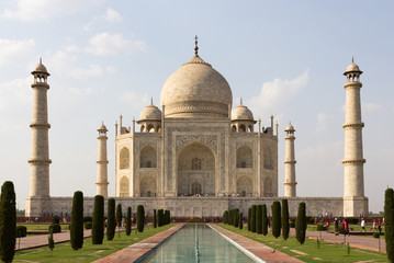 Taj mahal, A famous historical monument