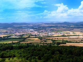 Aussicht Oberfranken