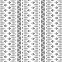 Seamless abstract pattern in ethnic style, vector