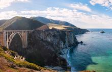 Le pont sur la route de Big Sur