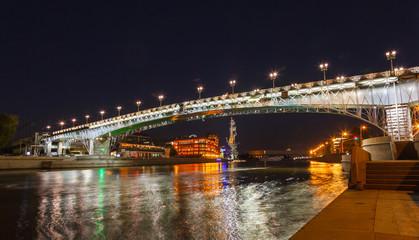 Moskva River and bridge