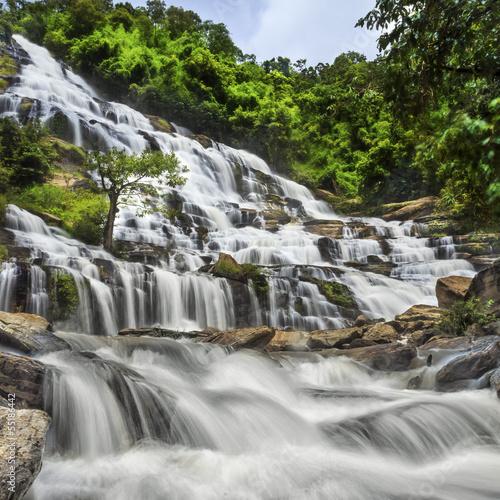 Fototapeten,wasser,wasserfall,fallen,chiang mai