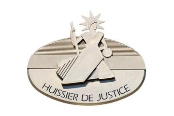 Enseigne d'un Huissier de Justice