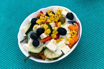 Reichhaltiger Salat