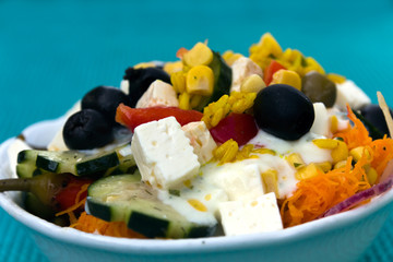 Gemischter Salat, Reichhaltiger Salat
