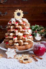 Christmas tree Pandoro